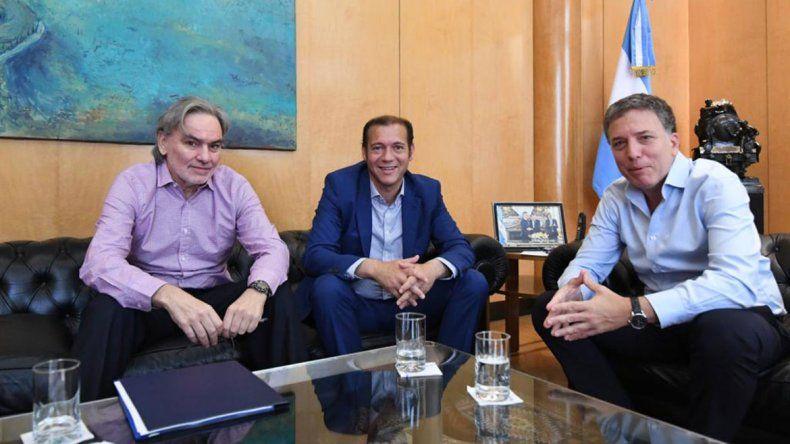Gutiérrez llevó los reclamos por Vaca Muerta a Dujovne