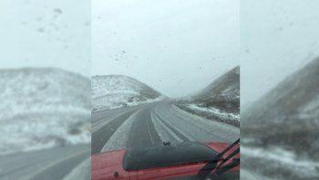 atencion turistas: cerraron pino hachado por las fuertes nevadas