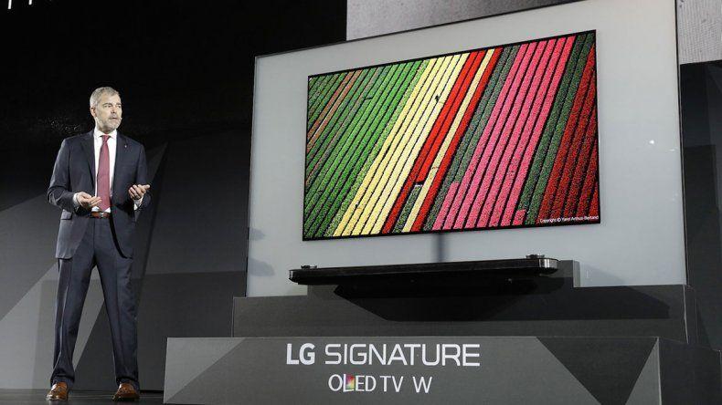 Samsung y LG presentaron sus nuevos televisores