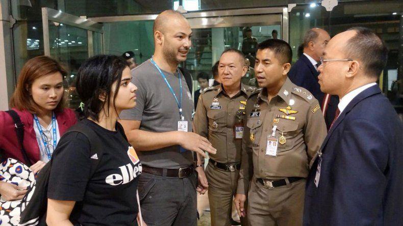 Si vuelvo, me matan, dijo la novia saudita fugitiva