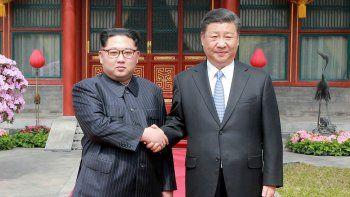 kim jong-un, reunido en china con xi jinpin