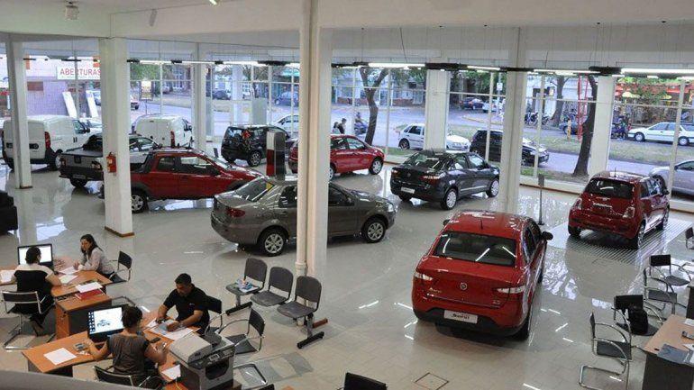 En Neuquén cayeron 2,8% las ventas de autos 0 km