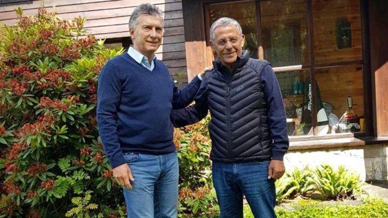 Pechi se reunió con Macri: Sentí el apoyo del Presidente