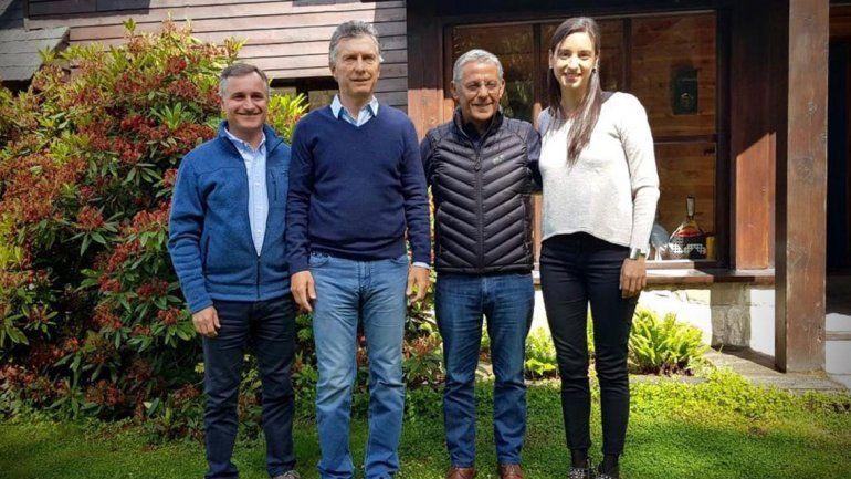 Quiroga se trajo el apoyo de Macri a su candidatura