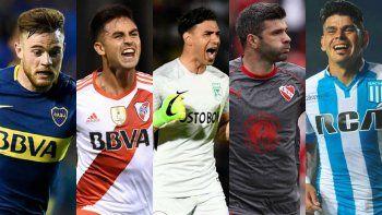 superliga: las altas y bajas de los clubes mas importantes