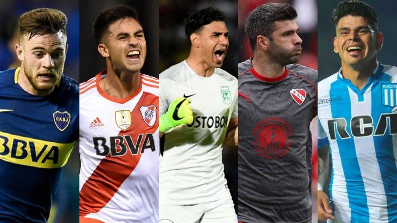 Las altas y bajas de los clubes más importantes de la Superliga