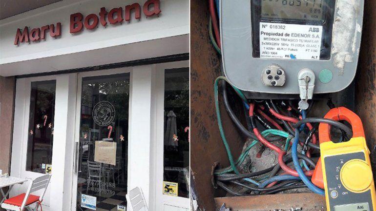 Escándalo: Maru Botana se colgó de la luz y Edenor la escrachó