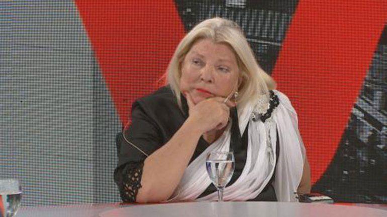 Lilita Carrió recibió a Marcos Peña para limar asperezas