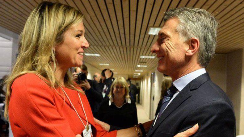 Macri recibió a la reina Máxima en Villa La Angostura