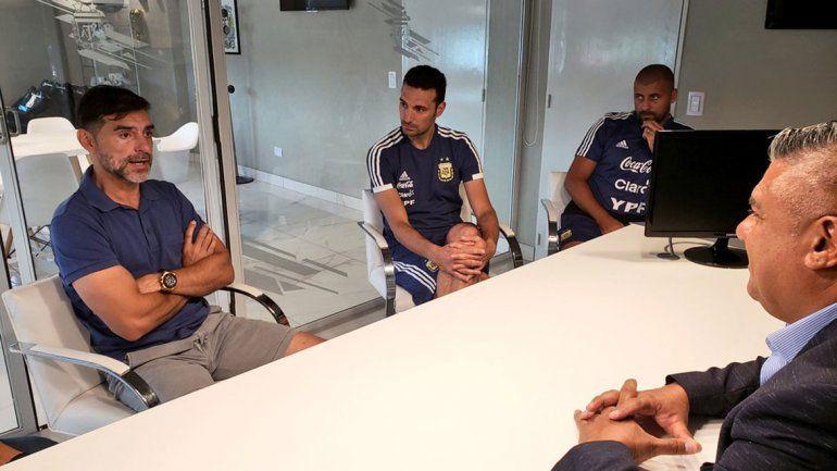 El Ratón Ayala se suma al cuerpo técnico de Scaloni