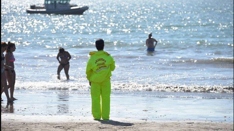 Turista argentino se ahogó en el mar de La Serena