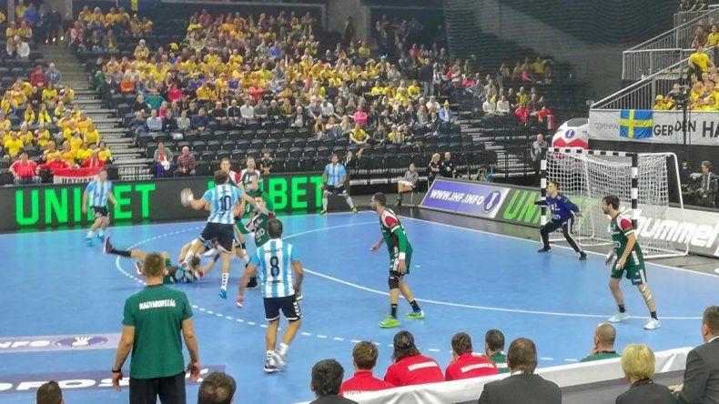 Los gladiadores debutaron con un empate en el Mundial de handball