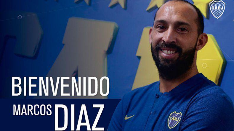 Boca le cumplió un nuevo deseo a Alfaro: Marcos Díaz firmó por 18 meses