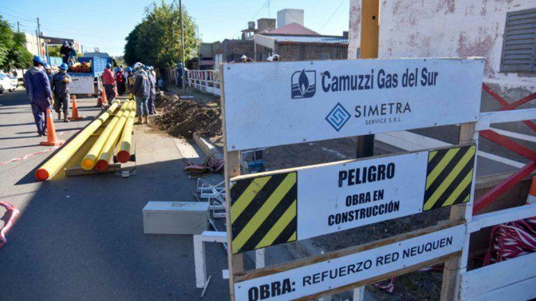 Financiarán la instalación interna de gas en Neuquén