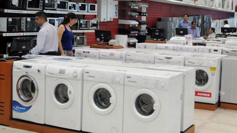 Se desplomaron las ventas de electrodomésticos