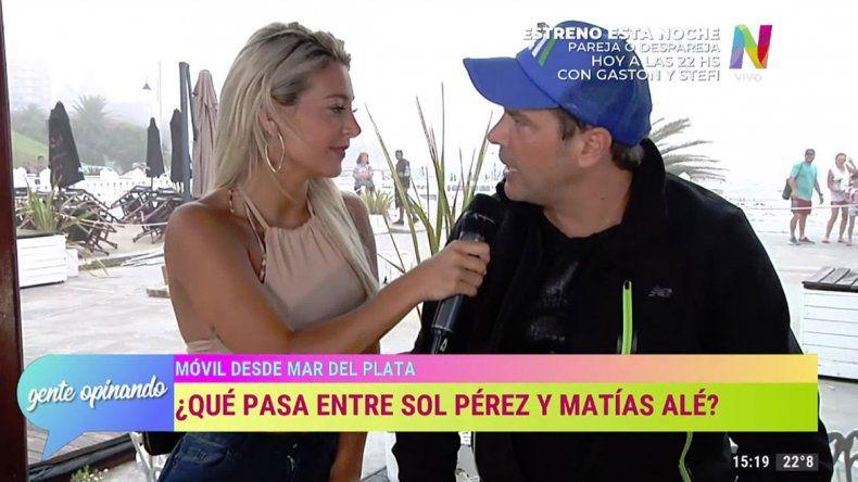 ¿Sol Pérez y Matías Alé, unidos por un falso romance?