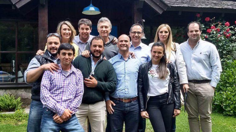 Macri recibió a chacareros y gobernadores en el cierre