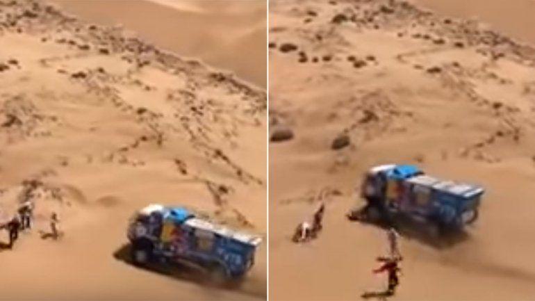 Dakar: expulsaron a piloto que atropelló a un espectador y no se detuvo