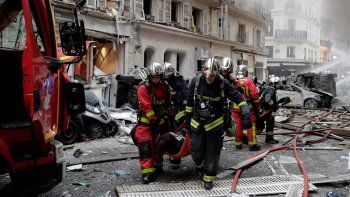 argentinos heridos por una explosion en francia