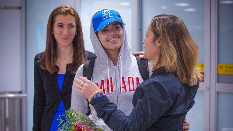La saudita que huyó del Islam llegó a Canadá