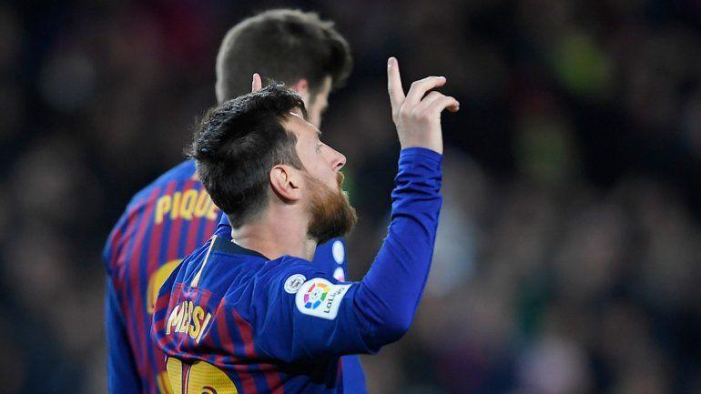 Messi y un nuevo récord: alcanzó los 400 goles en La Liga