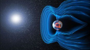 la tierra sufre con el campo magnetico