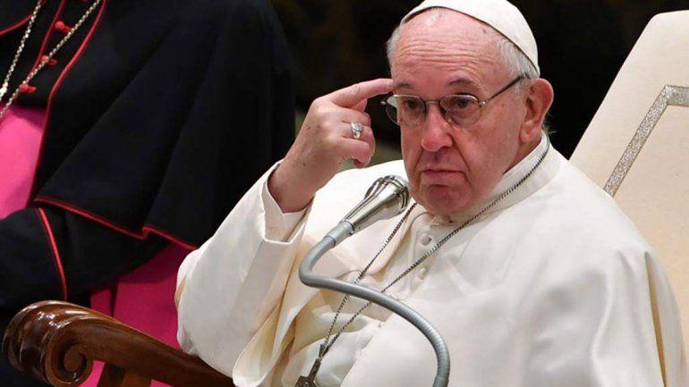 El Papa pidió que no haya peleas frente a los niños
