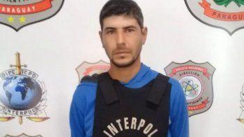 en paraguay cayo un argentino que buscaba interpol