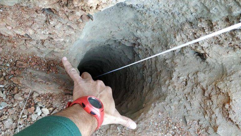 Dramático: nene de 2 años cayó en un pozo de 110 metros de profundidad