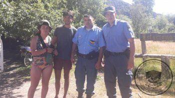 aparecieron sanos y salvos los jovenes buscados en siete lagos