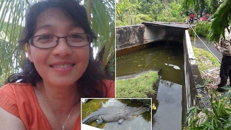 En Indonesia, un cocodrilo se devoró a una científica