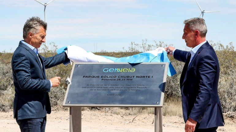 Macri, en Chubut: Un país no va a crecer sin energía