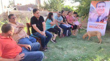 candidatos de rioseco recorrieron barrios de neuquen