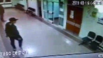 vandalos entraron al hospital, activaron un matafuego y quisieron robar la farmacia