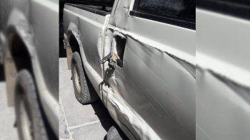 tras cuatro dias, encontraron la camioneta robada con un camion