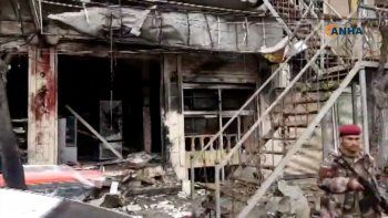 siria: al menos 16 muertos en otro ataque suicida
