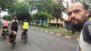 ejecutaron a balazos un ciclista argentino en brasil
