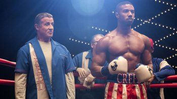 rocky balboa se despide del box en creed 2