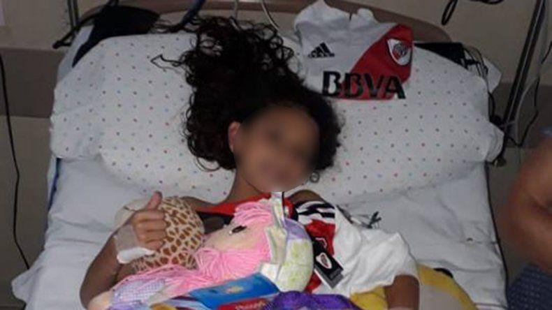 El inmenso gesto de River y Ponzio con una nena apuñalada en Buenos Aires