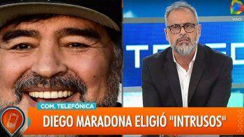 mira la polemica entrevista de rial a maradona
