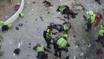 atentado con un coche bomba deja al menos 9 muertos en bogota