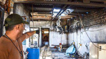 tres muertes y un incendio que pudo haberse evitado