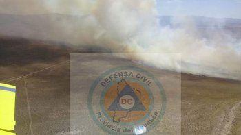 combaten incendio forestal que ya consumio 1.000 hectareas en junin