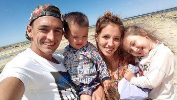 hector rueda: en la playa juego al rugby y les hago tackles a mis nenes