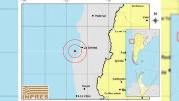 un temblor sacudio a chile y se sintio en cuatro provincias del pais