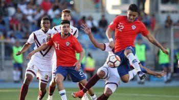 jugador chileno le grito muerto de hambre a un rival venezolano