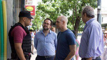 larreta dio su apoyo a jordan diaz en la pelea por cutral co