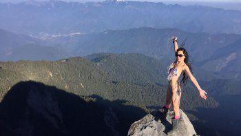 escalaba montanas en bikini y murio congelada