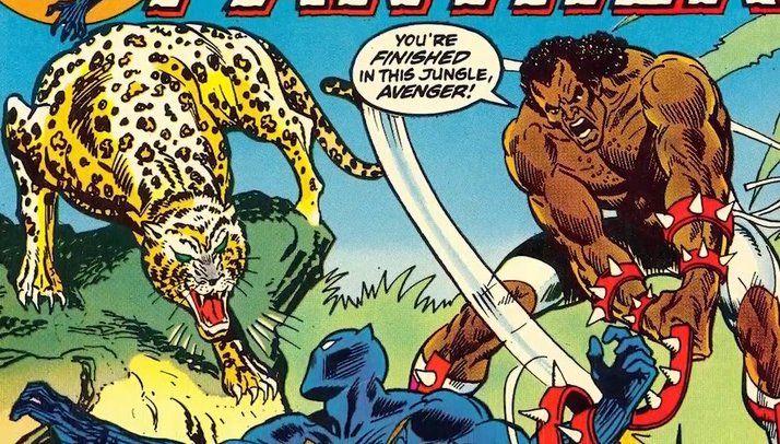 Killmonger se enfrenta a Pantera Negra.