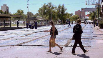 obras en calle sarmiento: por donde iran los colectivos
